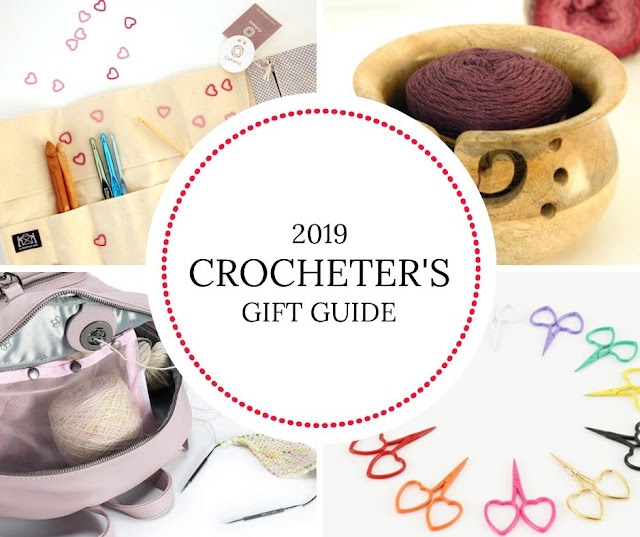Crocheter's Gift Guide 2019 | Happy in Red