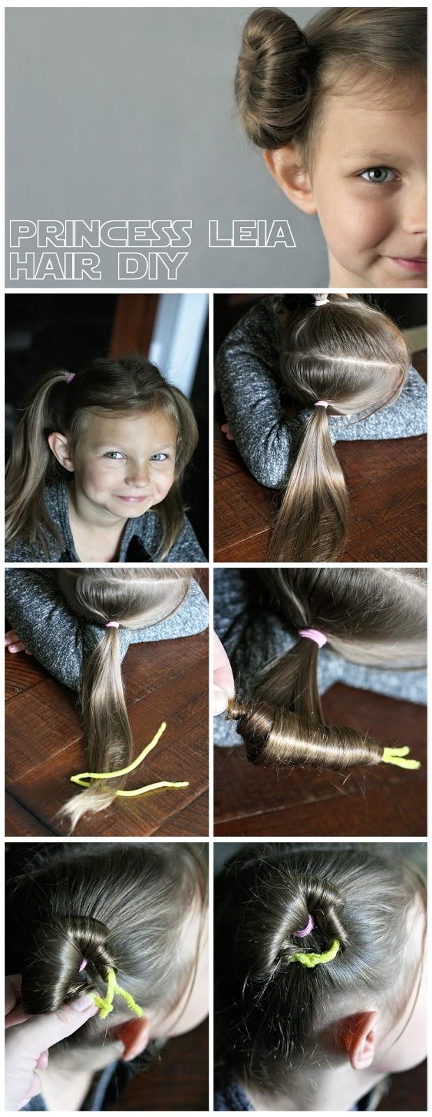 Princess Leia Hair Tutorial The Sewing Rabbit