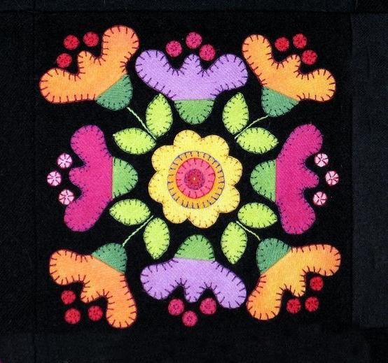 wzory pojedynczych kwadratow quilt