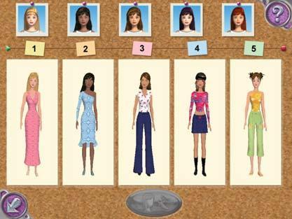 Barbie fashion show nintendofnac jeux fashion fonts.