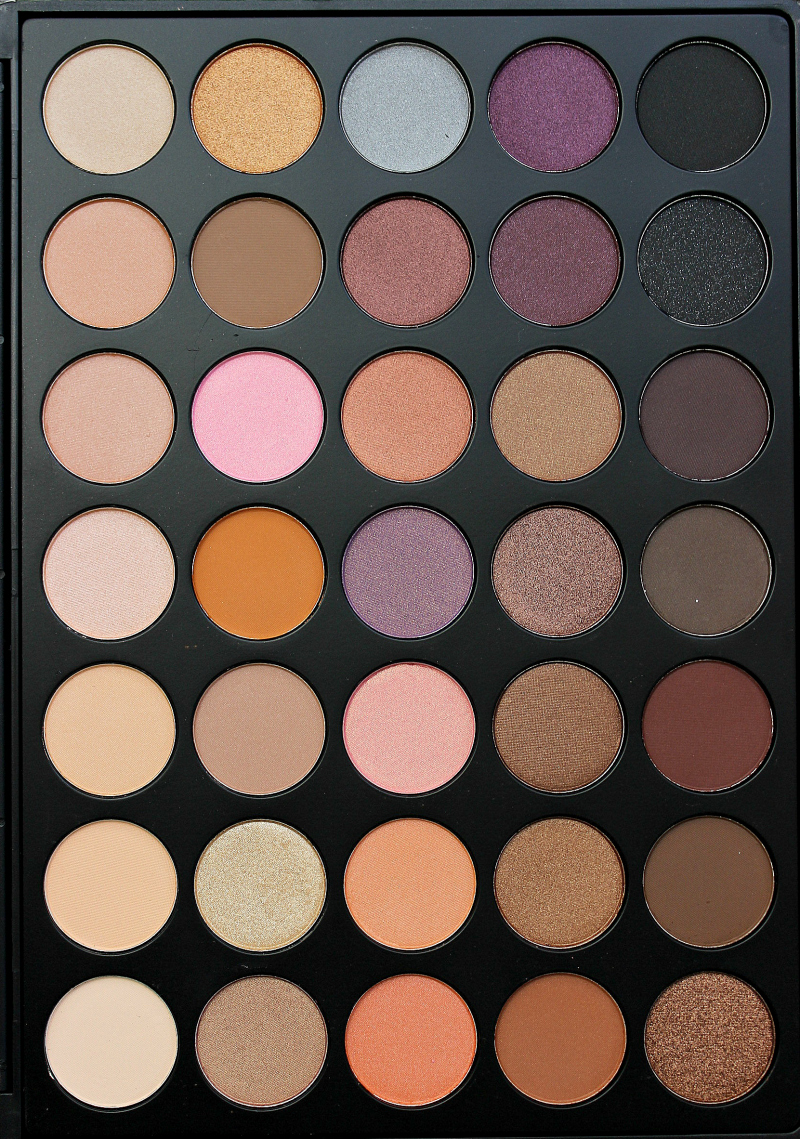 Morphe Brushes 35W 35 Color paleta sjena