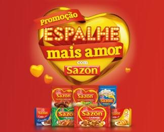 Cadastrar Promoção Sazón 2020 Espalhe Mais Amor - Nova Edição 500 Mil Reais e Prêmios