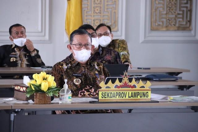 Gubernur Arinal Djunaidi Hadiri Musrenbangnas 2021