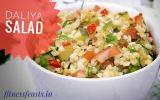 Protein Daliya salad