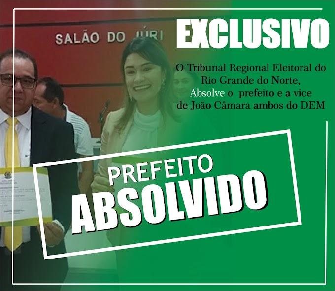 Prefeito de João Câmara Manoel Bernardo é absolvido pelo TRE e continua a frente do executivo do município