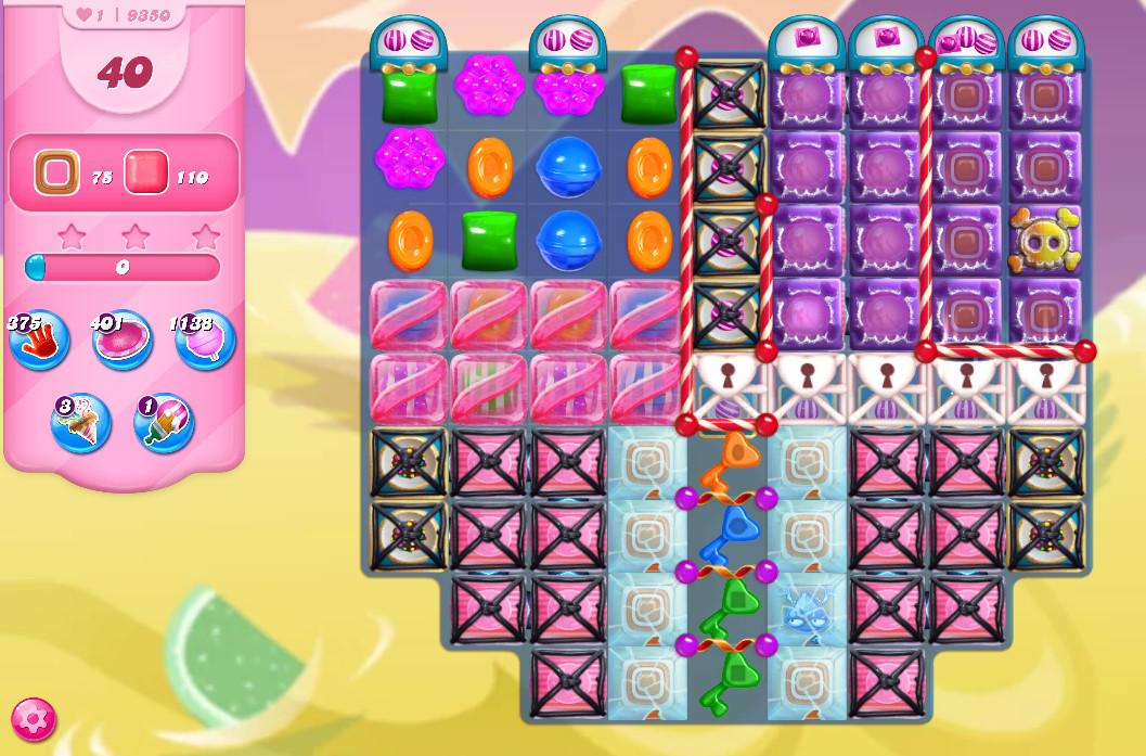 Candy Crush Saga level 9336-9350