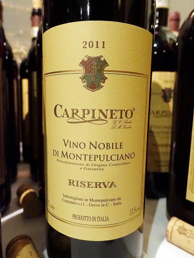 Carpineto Vino Nobile di Montepulciano Riserva 2011 (90+ pts)