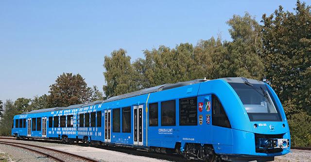 Kereta Bertenaga Hidrogen Pertama Siap Beroperasi