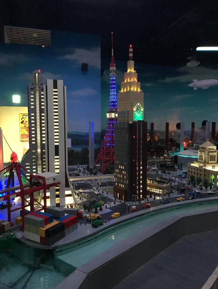 In Tokyo, there is a perfect LEGO copy of the Japanese capital
