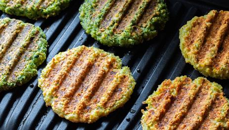 Saiba como preparar hambúrguer vegano