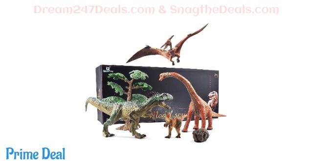 40% off Jumbo Dinosaur Toys Set