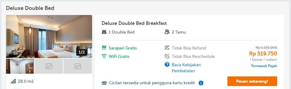 Harga/Tarif Hotel Braling Grand Purbalingga