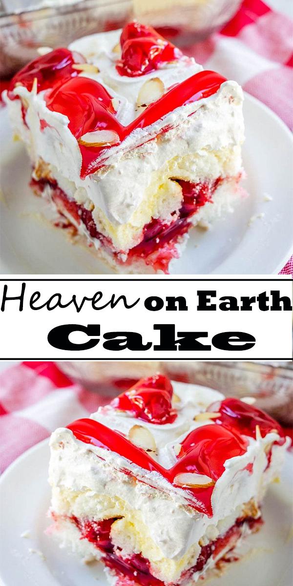 Heaven on Earth Cake Recipe #cake #heaven #cakerecipe #cakes #dessert