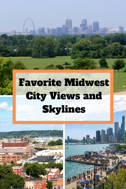 Favorite Midwest City Views and Skylines: A Collection of Spectacular City Views Around the Midwest