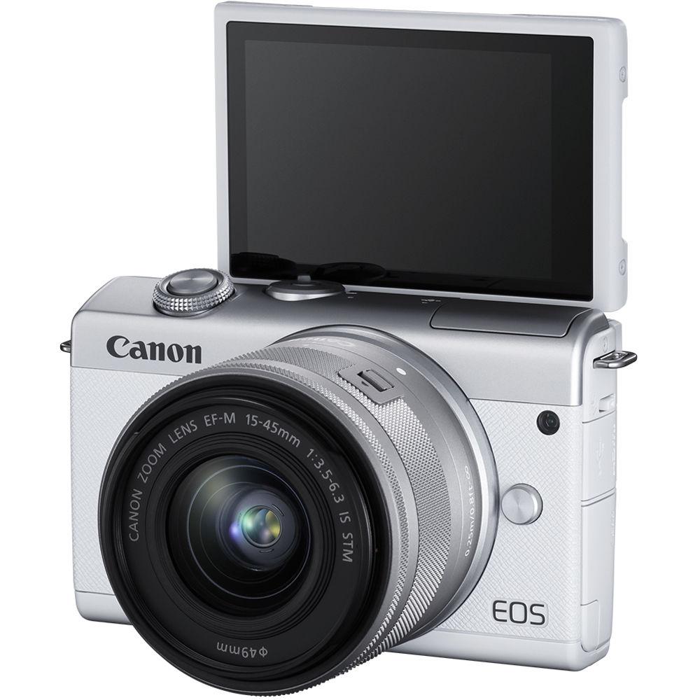 Экран для селфи в Canon EOS M200