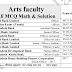 Arts Faculty DU All Previous Mcq Math Question Solution & Pdf Download