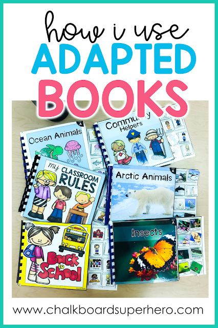 how to use adapted books in the special needs classroom