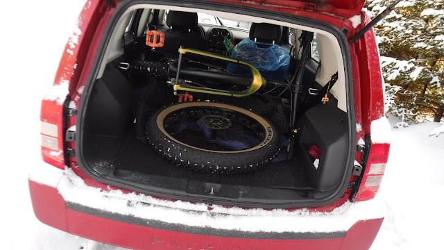 Fatbike Republic, fat bike, Newfoundland, Will my fat bike fit in a, Will my bike fit in a, fat bike in SUV, fatbike in SUV