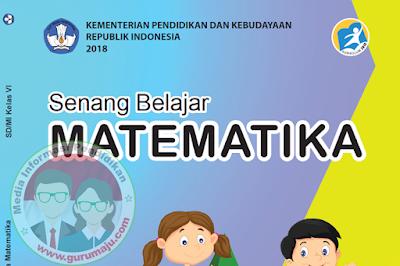 Buku Matematika Kelas 6 Kurikulum 2013 Revisi 2018 Semester 2