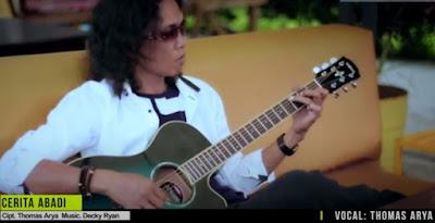 Lirik Lagu Pof Malaysia Thomas Arya - Cerita Abadi