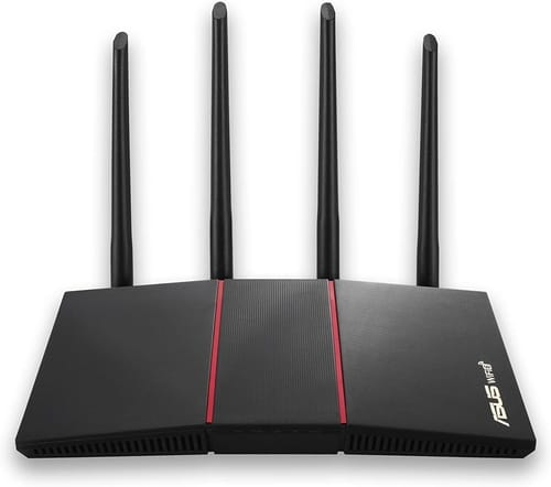 Review ASUS RT-AX55 AX1800 Dual Band WiFi 6 Router