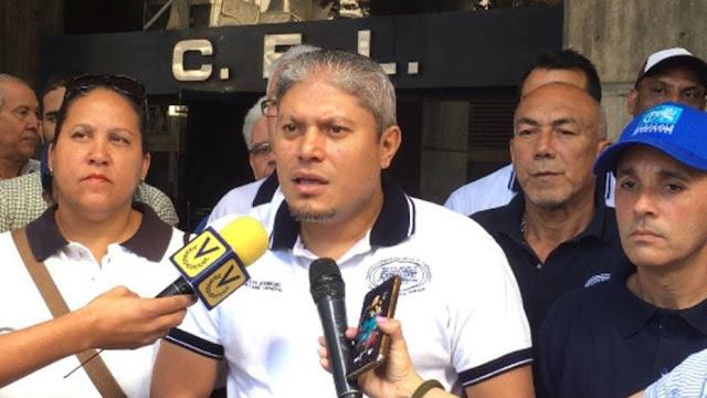 Trabajadores de la Alcaldía Metropolitana de Caracas exigen el pago de sus salarios