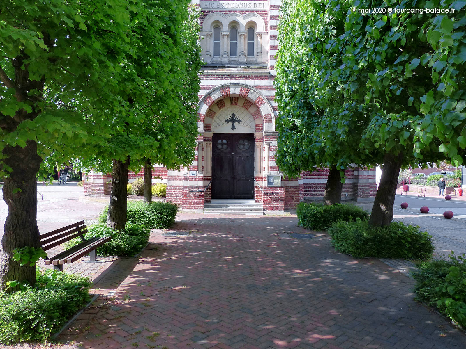 Portail Église Saint Martin, Templemars 2020