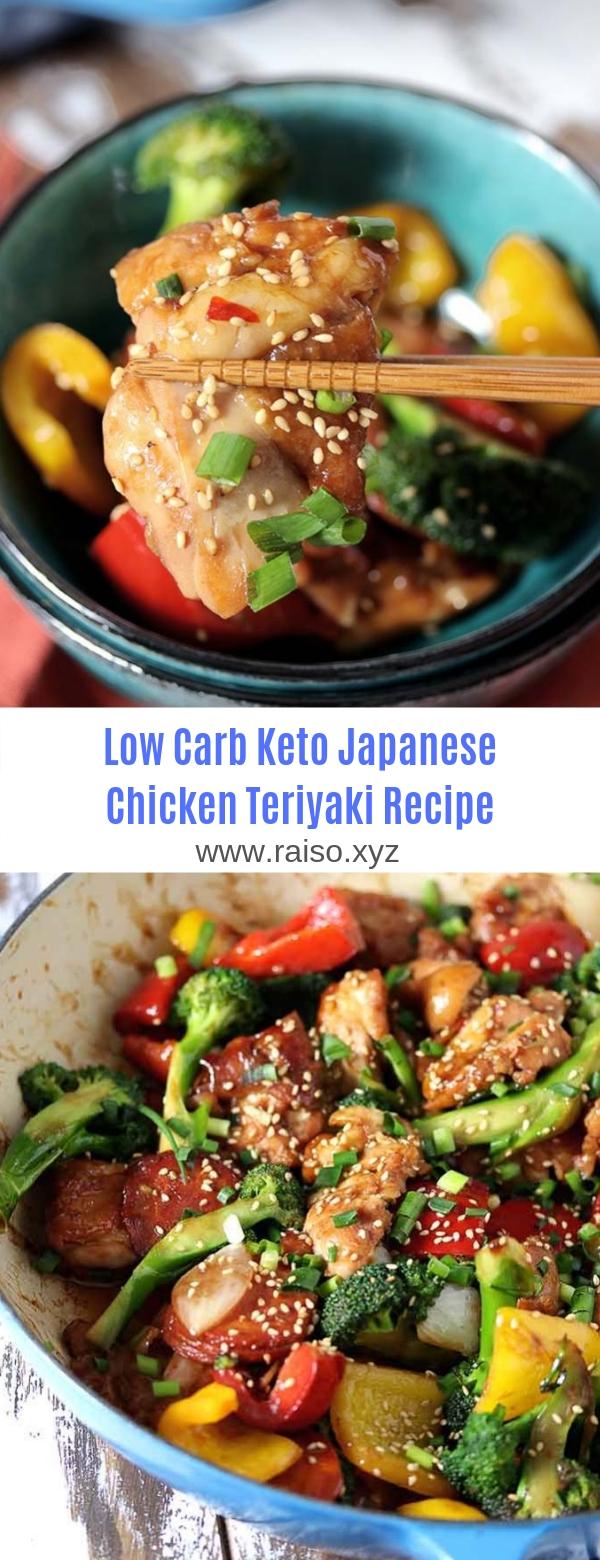 Low Carb Keto Japanese Chicken Teriyaki Recipe