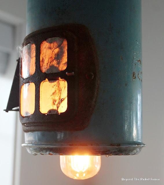 Thrifty Thursday DIY Hanging Light