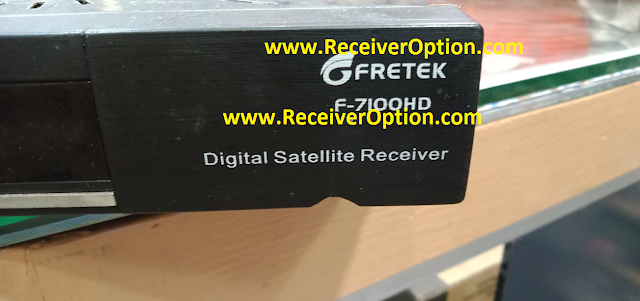 FRETEK F-7100HD RECEIVER ORIGINAL DUMP FILE
