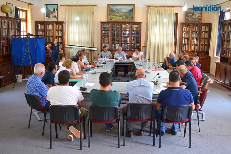 Συνεδριάζει τη Δευτέρα μέσω τηλεδιάσκεψης το Δημοτικό Συμβούλιο Νότιας Κυνουρίας