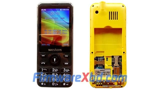 """Western D5 Flash File (2.8"""" Display) Download 6521E 100% Tested"""