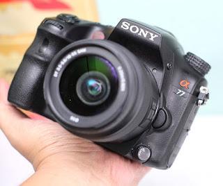 Kamera DSLR Sony Alpha SLT A77V bekas