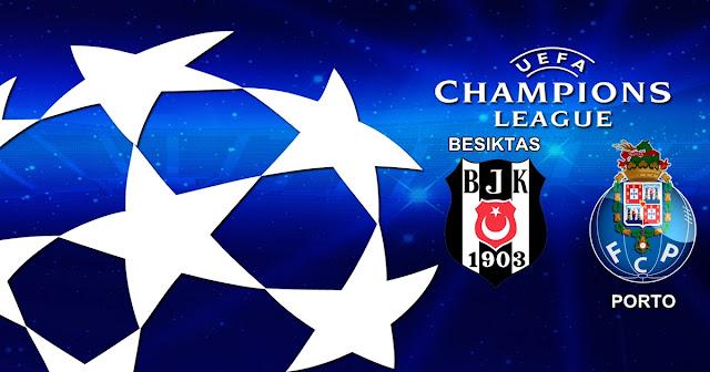Prediksi Besiktas vs Porto 22 November 2017