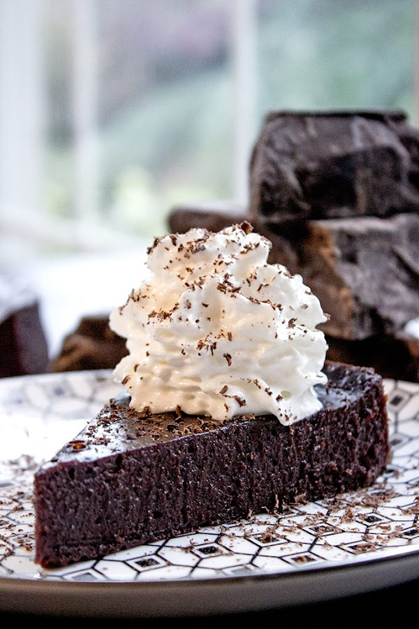 #Recipe : Flourless Chocolate Cake