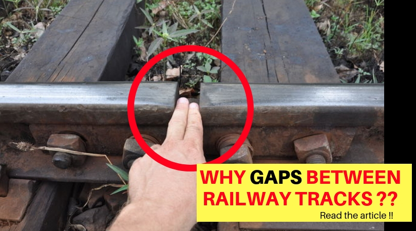 Mechanical Minds: WHY GAPS BETWEEN RAILWAY TRACKS ? CHECK THE ANSWER