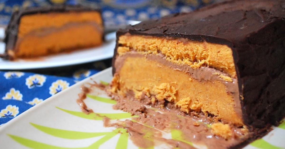 Freezable Cake Recipes Uk: Oh Cake: Frozen Pumpkin Chocolate Chili Terrine