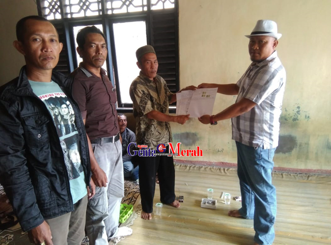 "Rastra Tidak Diberikan, Warga Kampung Pancanegeri  ""Ngadu"" ke Mapolres  Waykanan"