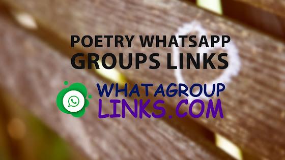 Latest Poetry WhatsApp Group Links