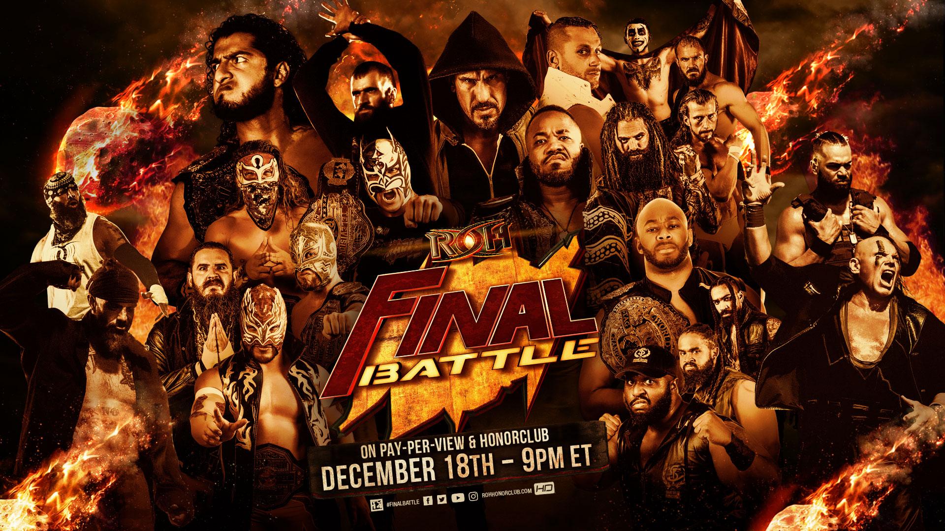 ROH Final Battle 2020: Novo combate anunciado!