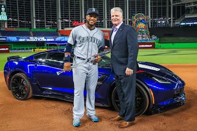 Chevy Awards MLB All-Star MVP with Corvette Grand Sport