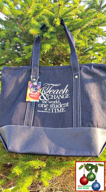 Teacher Peach, teacher gifts, gifts for teachers, totes
