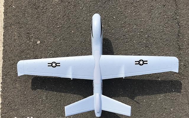 Máy bay điều khiển từ xa cánh bằng Z51 Predato_4