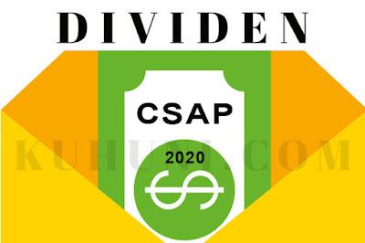Jadwal Dividen CSAP 2020