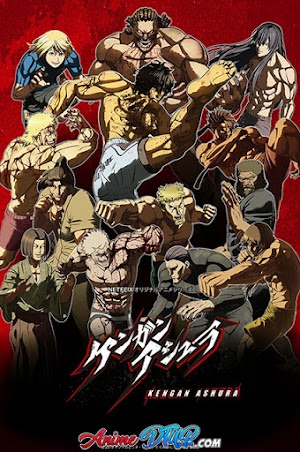 Kengan Ashura 2nd Season (12/12) [Lat/Cast/Ing/Jap+Sub] [WEB-DL 1080p]