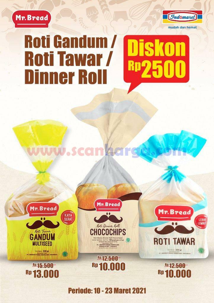 Mr Bread Promo Harga Spesial Roti Tawar & Roti Gandum Diskon Rp 2.500