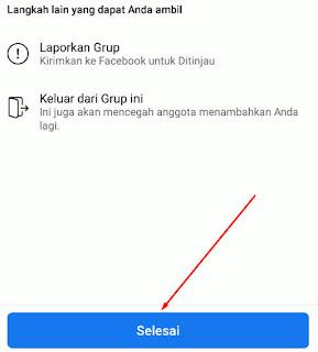 Cara Report / Laporkan Grup Facebook di Android