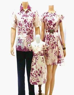 Contoh Model Baju Batik Couple Modern