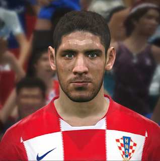 PES 2017 Faces Andrej Kramarić by FaceEditor Jefferson_SF