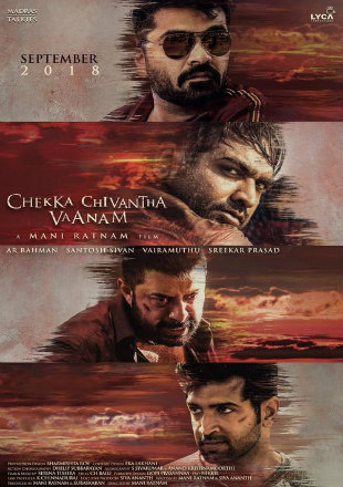 Chekka Chivantha Vaanam 2018 Hindi Dubbed Movie Download HDRip 720p